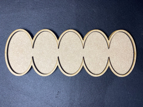 60x35mm Cavalry Line MDF Movement Tray