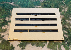 MDF Gaming Tray - 2x Measuring Sticks Set