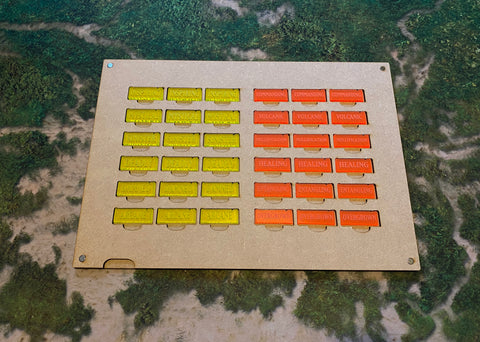 MDF Gaming Tray - Scenery Tokens