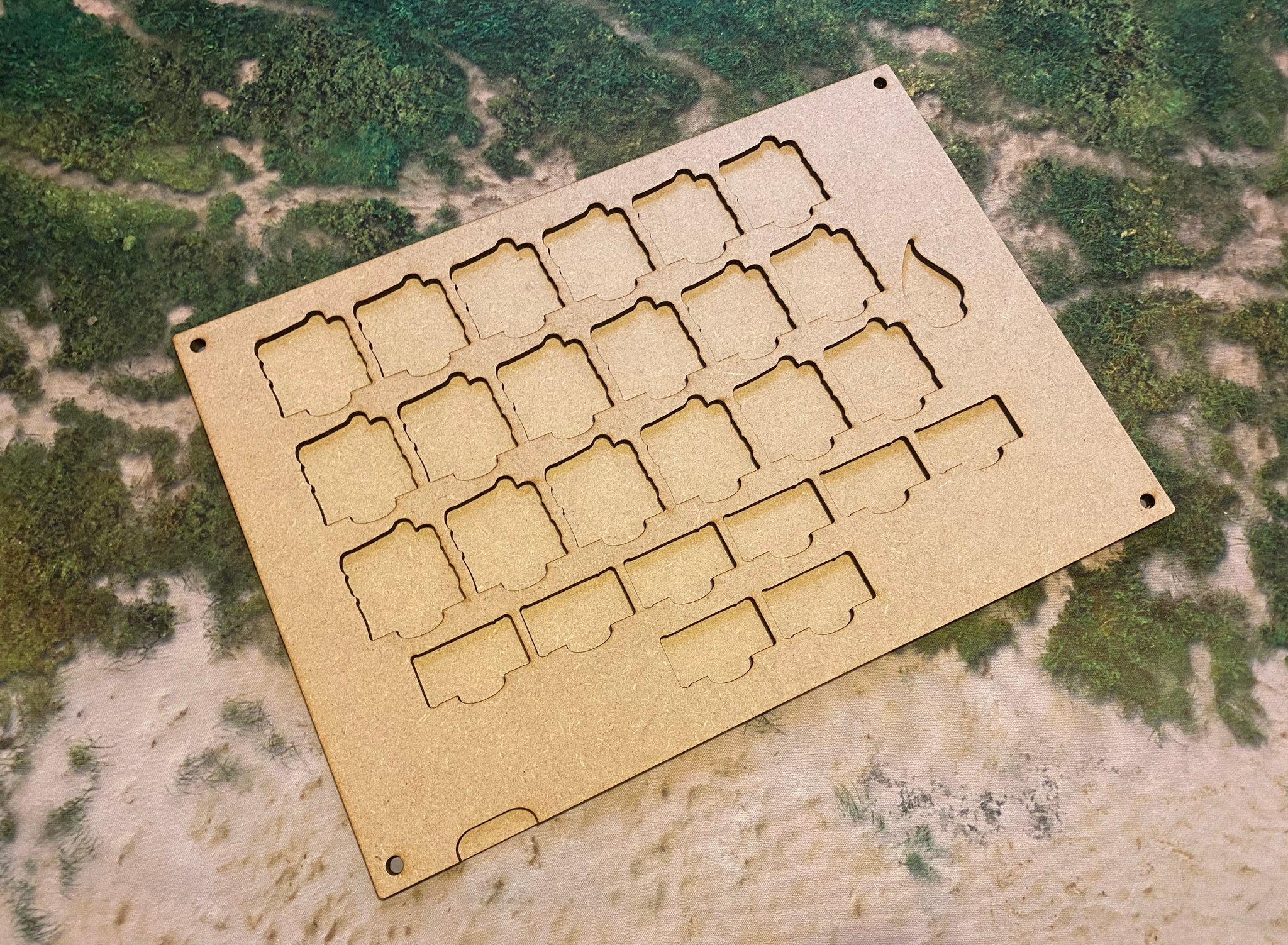 MDF Token Trays - Tribal Orcs