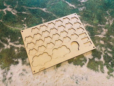 MDF Token Trays - Lords of Bloodshed
