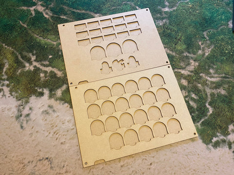 MDF Token Trays - Celestial Lizards