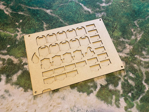 MDF Token Trays - Cannibal Courts