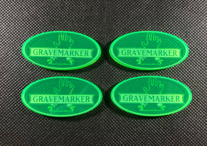 Armies of the Death God - Gravemarkers (4 pack)