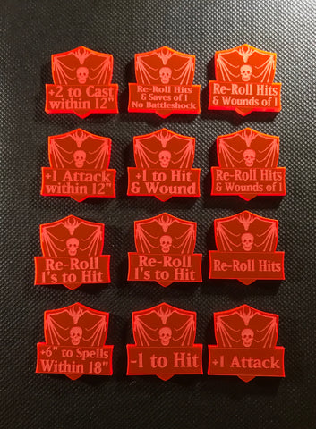 Armies of the Death God - Ability Tokens