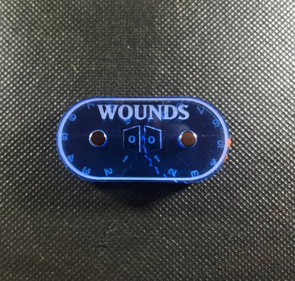 Double Wound Dial V2 - Magnetic Counter (0-99)