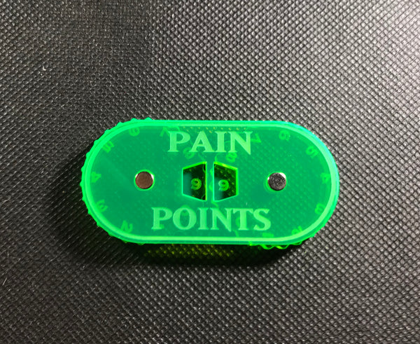 Lords of Pleasure - Magnetic Pain Points Counter