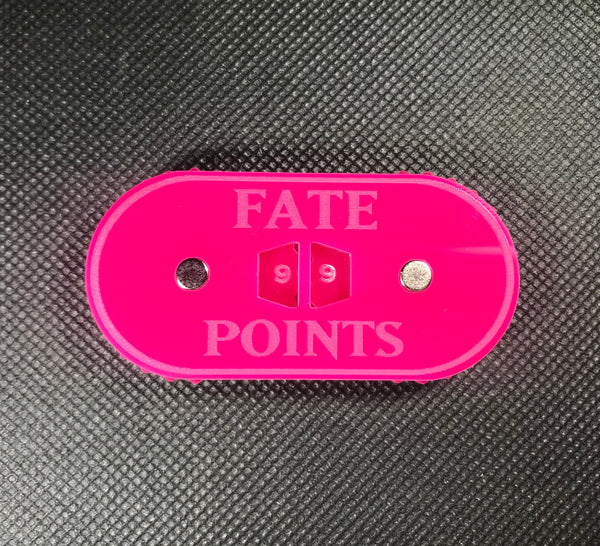 Lords of Fate - Magnetic Fate Points Counter