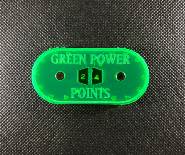 Mighty Orcs - Magnetic Green Power Points Counter