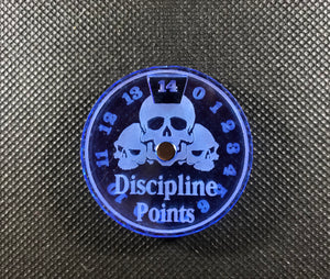 Bone Collectors - Discipline Points Magnetic Dial