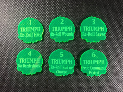 2019 Triumph Reminder Tokens - (6 pack)
