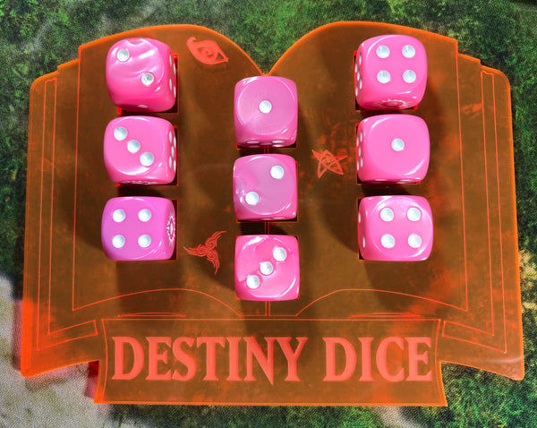 Lords of Fate - Magnetised Dice Holder