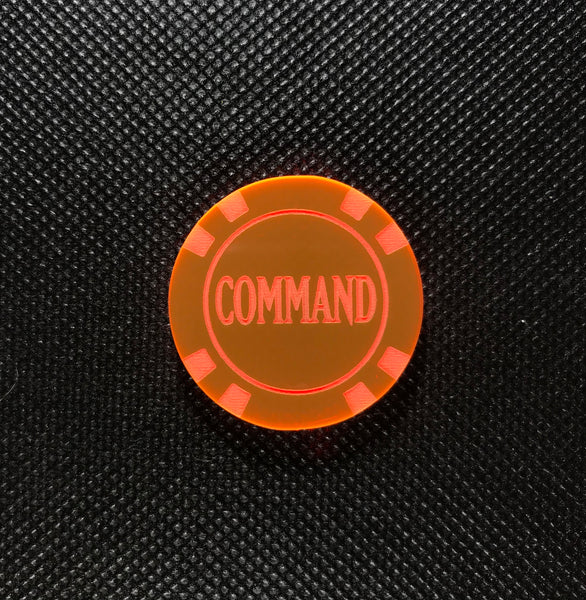Command Tokens (3 pack)