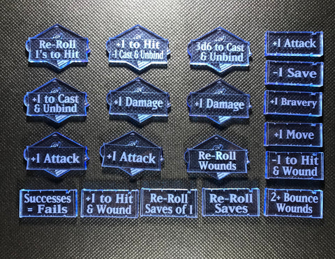 Lords of Fate - Ability & Spells Token Set