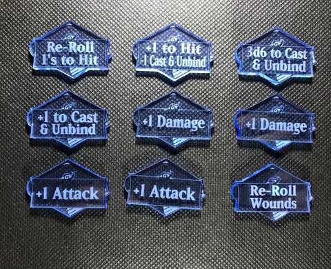 Lords of Fate - Ability Token Set