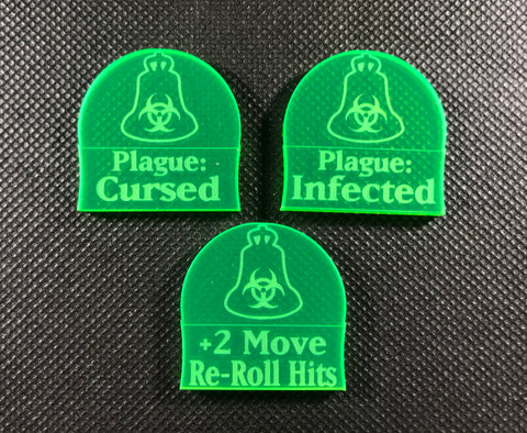 Ratmen - Disease Ridden - Addon Tokens (3 Pack)