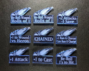 Lightning Warriors - Halls Addon Token Set