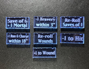 Lightning Warriors - Spells Token Set