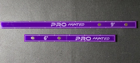 "Pro Painted 12"" Magnetic Range Sticks Set (12, 9 & 6 Inches)"