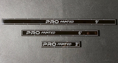 Pro Painted Range Sticks Set (9, 6 and 3 Inches)