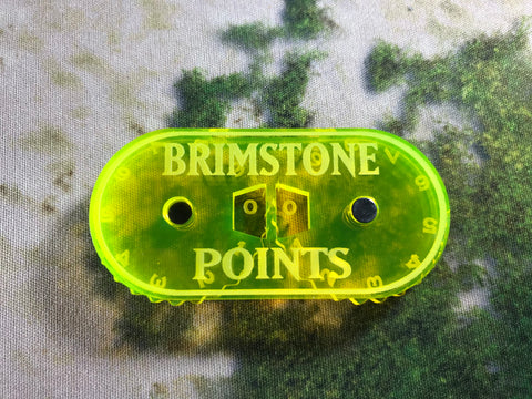 Lords of Fate - Magnetic Brimstone Points Counter