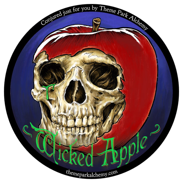 Wicked Apple Label Artwork