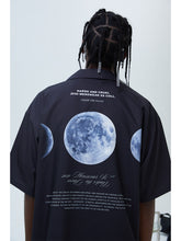 Load image into Gallery viewer, Dark Moon Phase Cuban Shirt