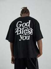 Load image into Gallery viewer, God Bless You Foam Print Tee