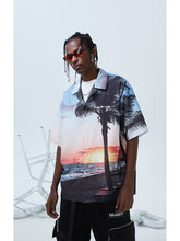 Load image into Gallery viewer, Hawaii Sunset Cuban Shirt