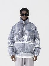 Load image into Gallery viewer, The Last Supper Down Full Print Jacket