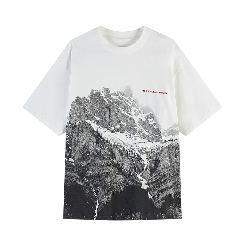 Mountain Full Print Tee