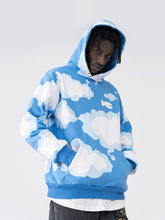 Load image into Gallery viewer, Blue Sky Printed Hoodie