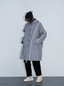 Reversible Woolen Overcoat