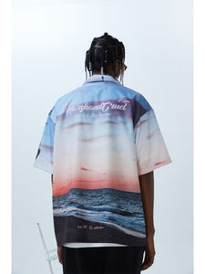 Hawaii Sunset Cuban Shirt