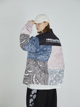 Load image into Gallery viewer, Paisley Stitched Coach Jacket