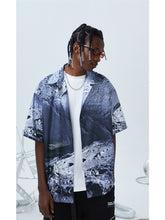 Load image into Gallery viewer, Moon Cuban Shirt