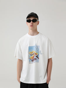 Fruit Oil Painting Tee