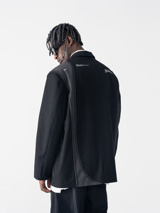 Stitched Suit Jacket