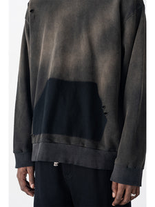 Washed Distressed Hoodie