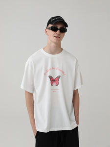 Butterfly Printed Tee