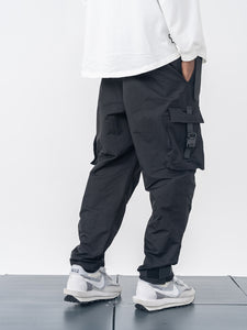 Tactical Buckle Cargo Pants