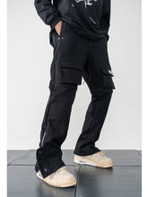 Load image into Gallery viewer, Multi Pocket Adjustable Trousers