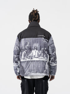The Last Supper Logo Down Jacket