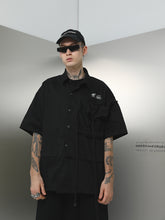 Load image into Gallery viewer, Industrial Drawstrings Shirt