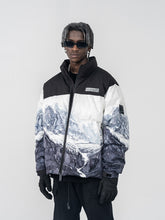 Load image into Gallery viewer, Snow Mountain Logo Down Jacket