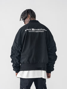 Layout MA-1 Bomber Jacket