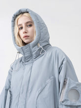 Load image into Gallery viewer, Futuristic Shape Down Jacket