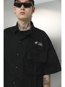 Industrial Drawstrings Shirt