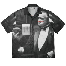 Load image into Gallery viewer, Mafia Print Cuban Shirt