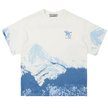Load image into Gallery viewer, Blue Snow Mountain Print Tee